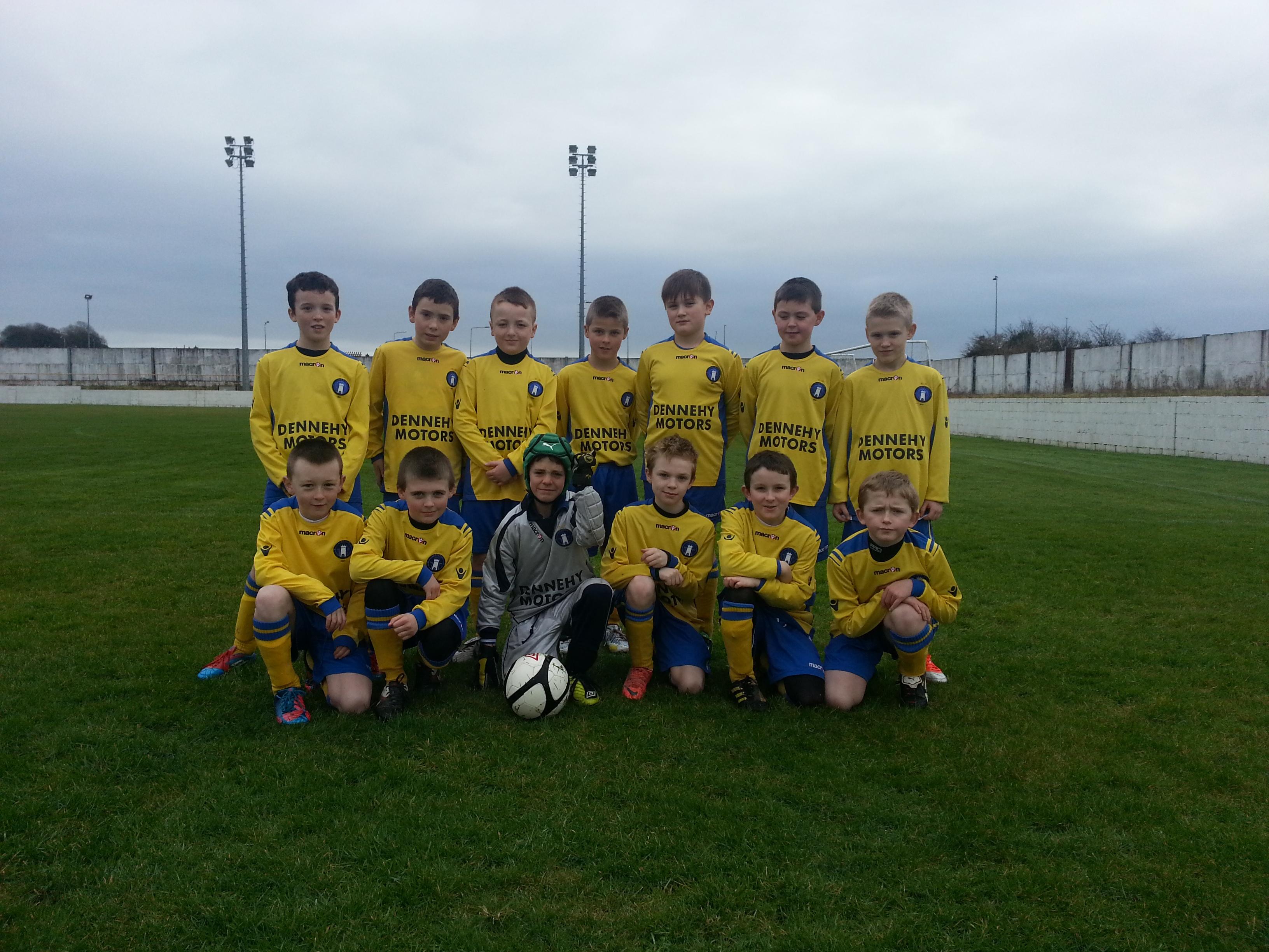 LImerick FC Academy fixtures 23-02-2013   Limerick FC