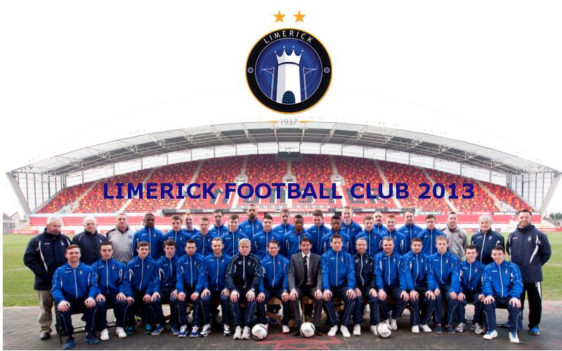 2013 squad numbers   Limerick FC