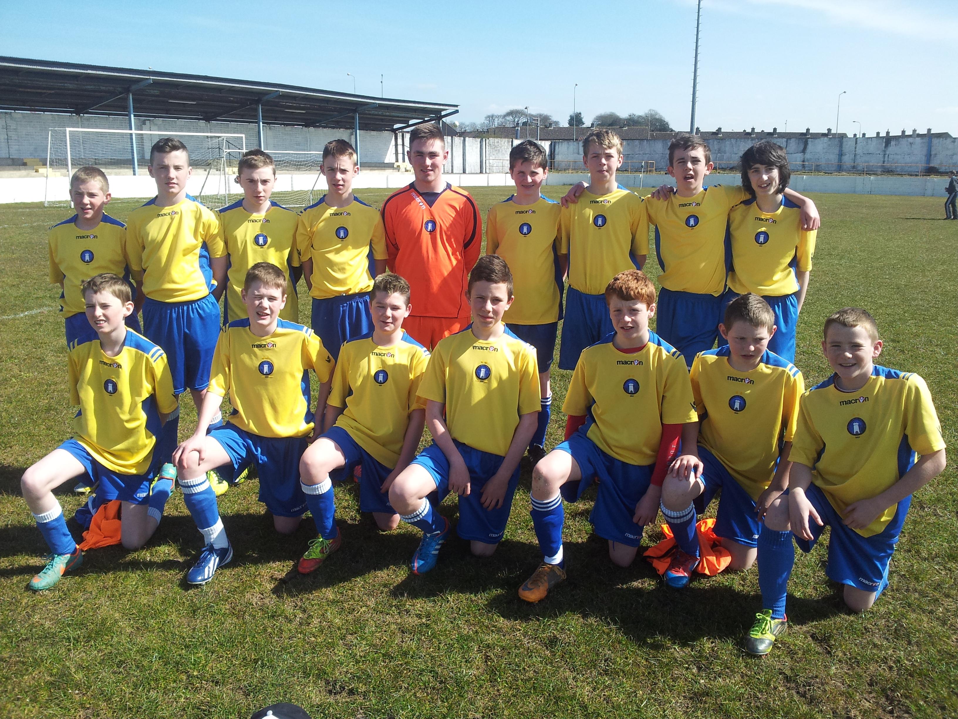 Limerick FC Academy U-14s Versus Mungret/Regional 6-04 ...