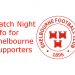 Match night info for Shelbourne fans
