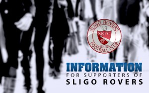 Information for Sligo rovers supporters