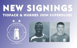 Tiofack and Hughes join Superblues