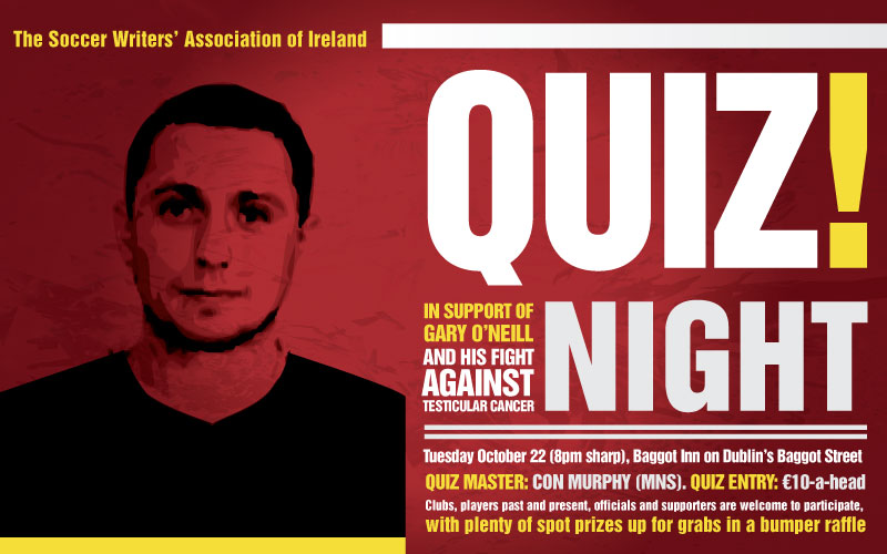 Quiz Night Organised In Support Of Gary O'Neill