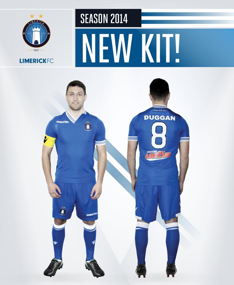 2014 Kit Revealed   Limerick FC