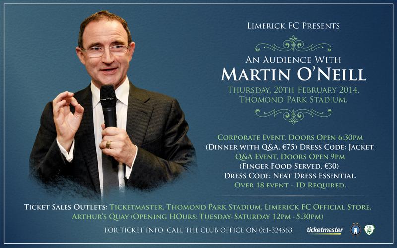 Thomond Park Set To Host Irish Boss: Tickets On Sale!