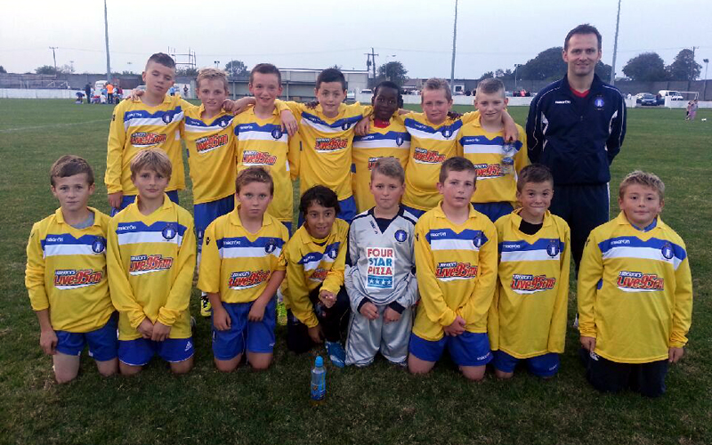 U13s: Young Superblues Maintain 100 Percent Start