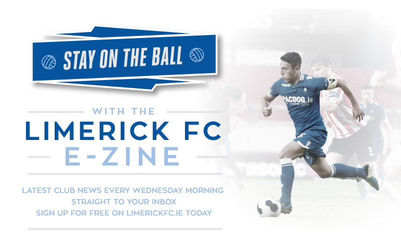 Subscribe Now! Limerick FC Ezine