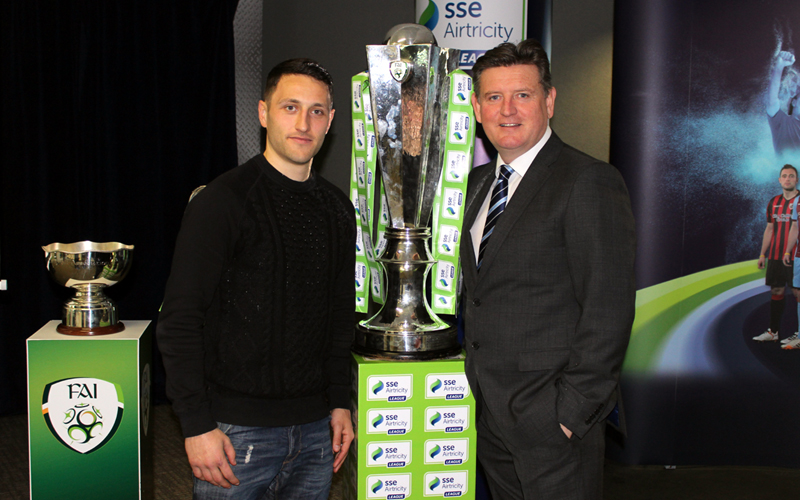 Russell & Duggan Attend 2015 SSE Airtricity League Season Launch