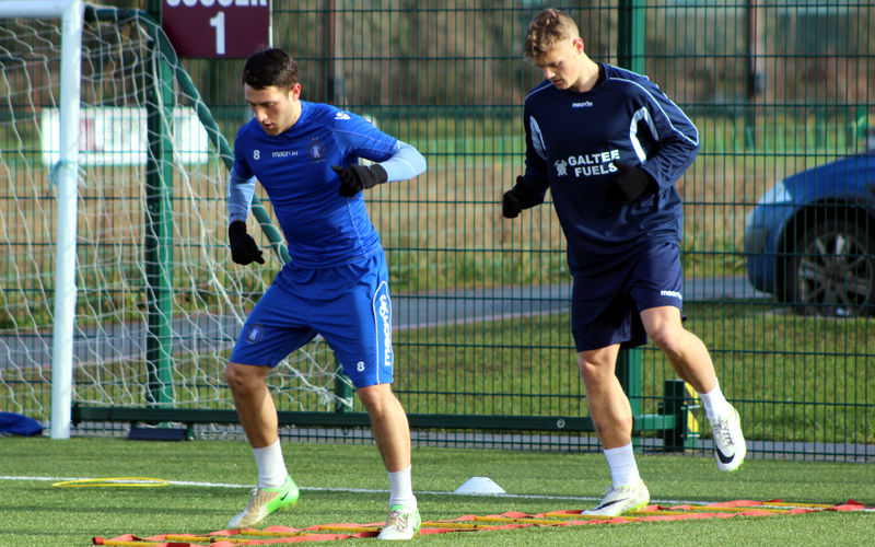 In Photos: Superblues In Training At UL