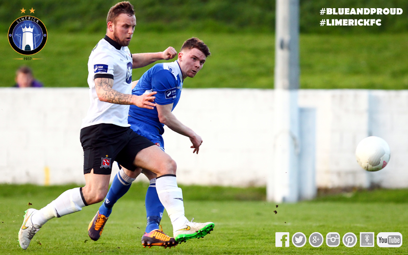 Dean Clarke In Action Against Dundalk