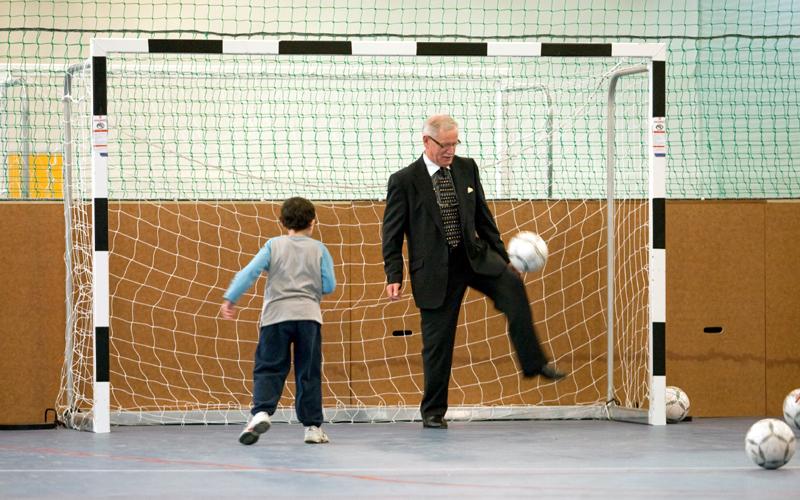'Football For All' Blitz