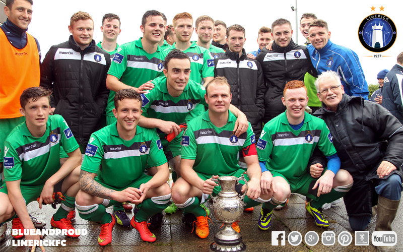 Limerick FC Announce Defence of Munster Senior Cup