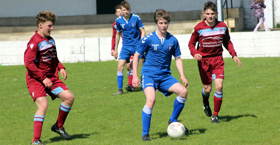 Limerick FC TV: U17s: Willie Boland Interview & Cobh Ramblers Goals