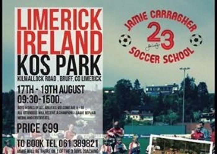 Jamie Carragher Soccer School
