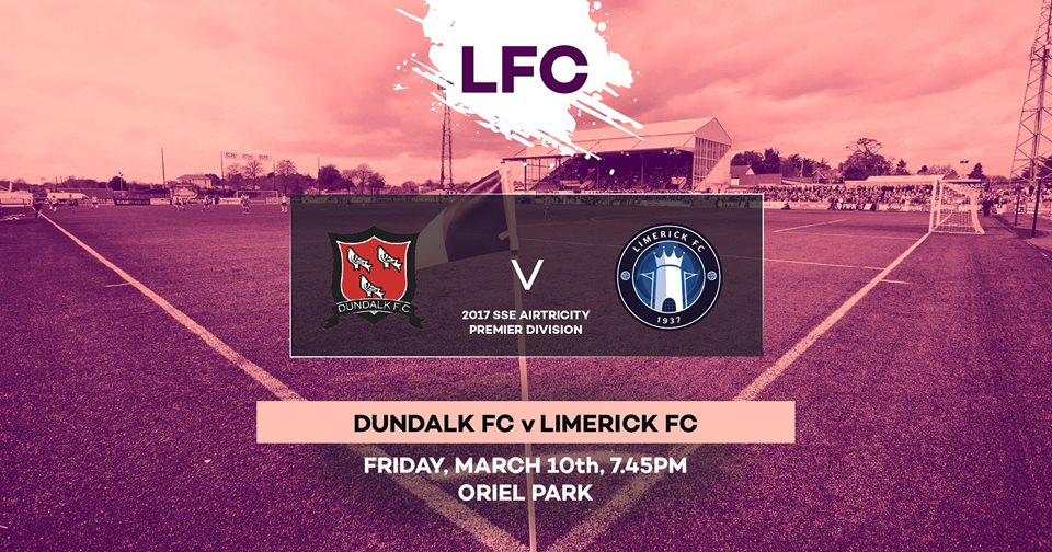 71598b5ac9f54 Limerick FC are back in action this evening as they face the Champions  Dundalk in Oriel Park. Follow all the action over on Twitter from 7:45pm!